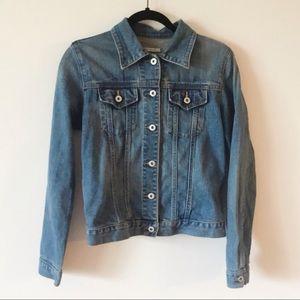 GAP Factory Stretch Denim Jacket Flap Pocket